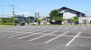 駐車場230台完備